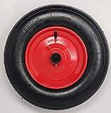 BITS4REASONS - Ruote da 20,3 cm in acciaio con cuscinetto da 25 mm, 4,80/4,00-8, multiuso e resistente, per barche, carrello con ruote da 385 mm, carico massimo 136 kg