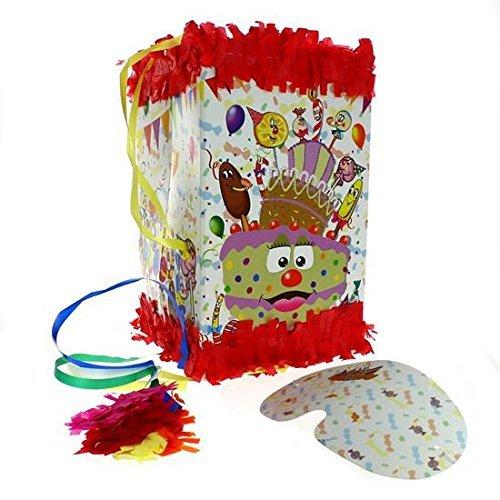 ALMACENESADAN 0458, piñata viñeta Sweet Party 20x30 cm + Antifaz Sweet Party