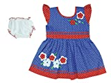 Ole Baby Dress-(Blue,6-12 Months)