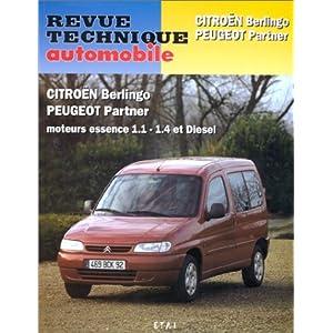 Citroën Berlingo – Peugeot Partner, moteurs à essence 1.1-1.4 et diesel
