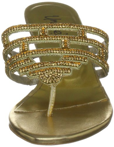 Unze L17019, Damen Business-sandalen Gold (oro)