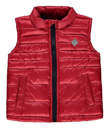 Kanz Jungen Sport Weste 1836907, Rot (Rococco Red 2250), 122