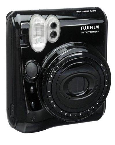 Fujifilm Instax Mini 50S Instant Photo Camera (Black)