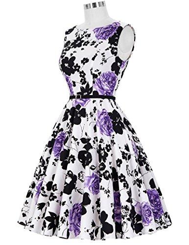 50s Rockabilly Kleid Festliches Kleid Partykleider Cocktailkleider GD6086 New CL6086-48
