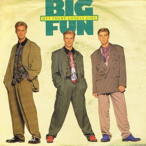 Big Fun - Hey There Lonely Girl - Jive - ZB 43827
