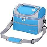 Tyidalin gran capacidad bolsa nevera bolsa isotérmica para familia de equipaje barbacoa Camping Picnic almuerzo almuerzo 8L