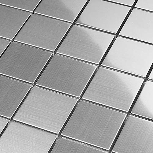 Mosaik Edelstahl Metall