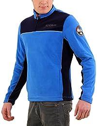 NAPAPIJRI Herren Winter Fleece Sweatshirt SMU TERLER Multicolour Blue B6OM01