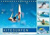 Edition Funsport: Kitesurfen (Tischkalender 2019 DIN A5 quer)