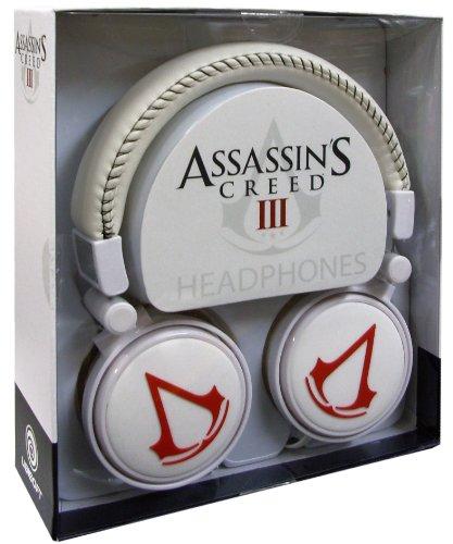 Assassins Creed 3-Over ear Kopfhrer Rubber Logo