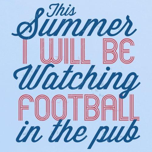 Football In The Pub T-Shirt, Herren Himmelblau