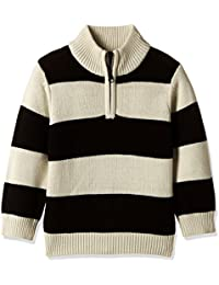 The Children's Place Baby Boys' Knitwear (2066226S1_Stone_18-24 M)