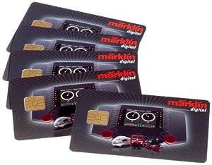 Märklin 60135  - Locomotora tarjeta-Set (5 tarjetas) importado de Alemania