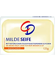 CD Milde Seife Avocado, 6er Pack (6 x 4 x 125 g)