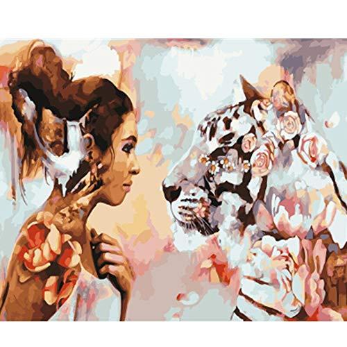 baodanla Aucun Cadre ng par Colorful Picture Home Decor pour Le Salon Main Unique Cadeaux GX50x70cm