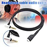QUEENBACK Headset Earphone Replacement Audio Cable Wire Portable Flexible Gaming for Arctis 3 5 7