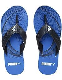 de6b22d5790f Puma Men s Oleum IDP Royal Blue-Asphalt White Flip Flops Thong Sandals-8 UK