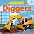 Diggers Lift-And-Look (Lift-and-Look Board Books)