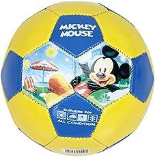 Disney Mickey Mouse PVC Soccer Football Size 2