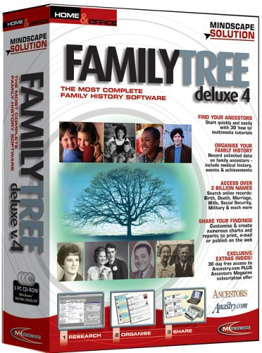 Legacy Family Tree Deluxe (Family Software Legacy Tree)