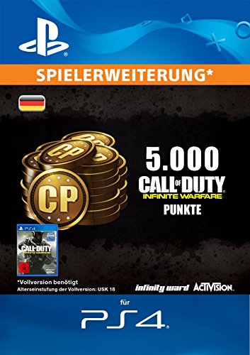 Call of Duty: Infinite Warfare 5000 Points Edition [PS4 Download Code - deutsches Konto]