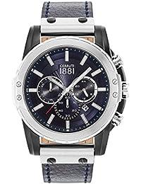 Cerruti 1881 CRA130SBS03BL Reloj de pulsera para hombre