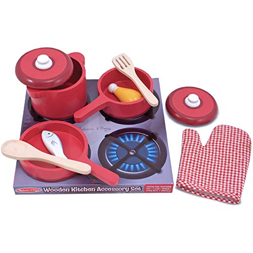 Melissa&Doug 12610 Play House-Kitchens & Play Sets, Red, 31 x 31 x 13 cm