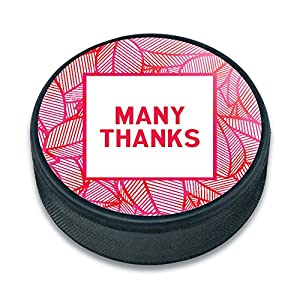 EISHOCKEY Puck Thank You Gratitude