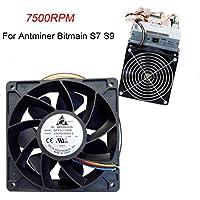 YUYOUG dissipatore di calore Cooler, rpm ventola di raffreddamento connettore a pin di ricambio per Antminer Bitmain S7S9