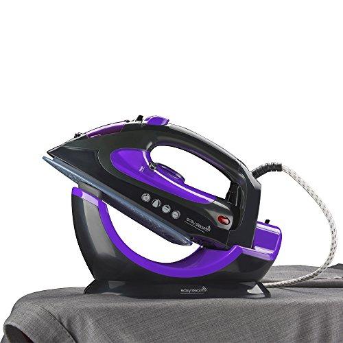 easy-steam-2-in-1-corded-cordless-ceramic-steam-iron-plus-sturdy-base-unit-2200-watts-black-purple