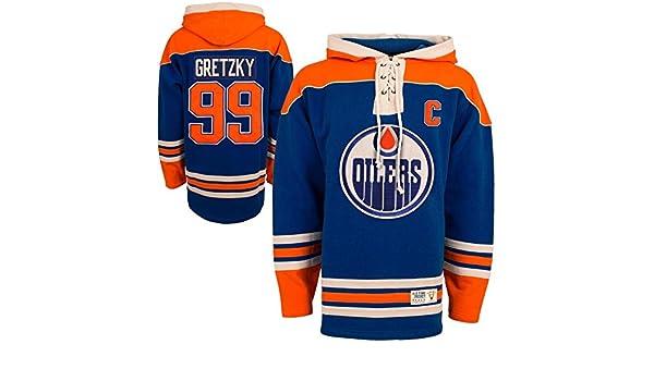 NHL Edmonton Oilers Wayne Gretzky Vintage Lace Jersey Hood (Old Time Hockey)-XXL   Amazon.co.uk  Sports   Outdoors 9abee45e3
