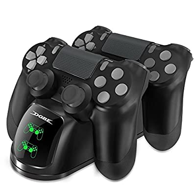 PS4 Controller Charger, PS4 Charger, Honghengxin Digital Dualshock PlayStation 4 Charging Dock Station Stand from DOBE