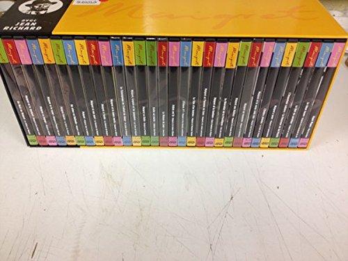 COFFRET 30 DVD COLLECTION JEAN RICHARD MAIGRET LES MEILLEURS ENQUETES