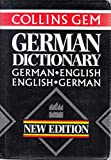 Cover of: Collins Gem German Dictionary: German-English English-German (Collins Gems) | Harper Collins Publishers