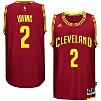 adidas Kyrie Irving Cleveland Cavaliers NBA Swingman Jersey Maglia - Red 75b5ab20ed52