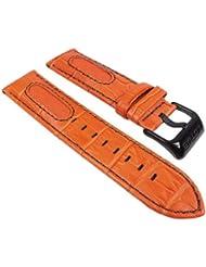 Lotus L15788/2-Band - Correa para reloj, piel, color naranja