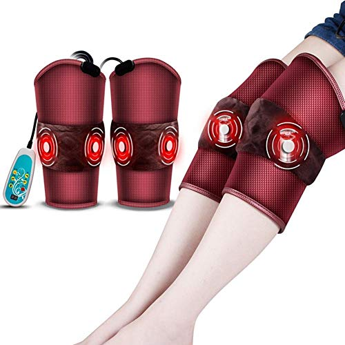 HXLSXROMIDA Elektrisches Heizkissen mit 9 Mode-Motion-Kinds und 5 Intensitätsspitzen, Massager-Therapie für Beine, Abfall und Arm