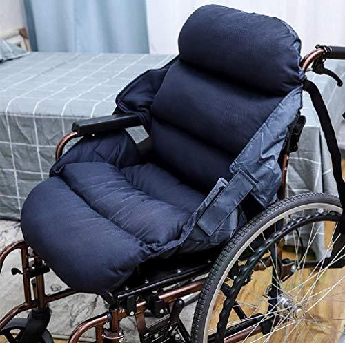 HONGHUIYU Rollstuhl-Komfortkissen Passt Hüfte Rücken-Ischias Schmerzlinderung für Bürostuhl Esszimmerstühle Sofa Druckreduzierung Rollstuhlkissen
