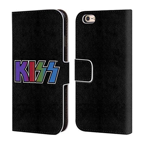 Ufficiale KISS Army Logo Cover a portafoglio in pelle per Apple iPhone 4 / 4S Tour Giappone