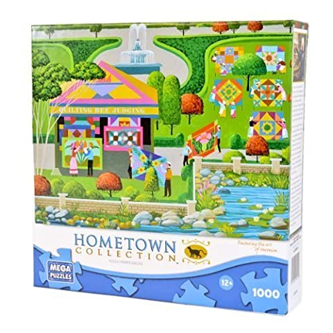 Hometown Collection- Quilting Bee by Heronim by MEGA Brands (English Manual)
