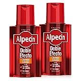 Alpecin Doble Efecto Champú Cafeína, Champú anticaída y anticaspa - 2 x 200ml = 400ml