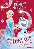 Disney La Reine des Neiges - Coloriage avec stickers (Noël)...