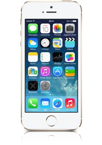 Apple iPhone 5s Smartphone débloqué 4G (Ecran : 4 pouces - 16 Go - iOS 7) O