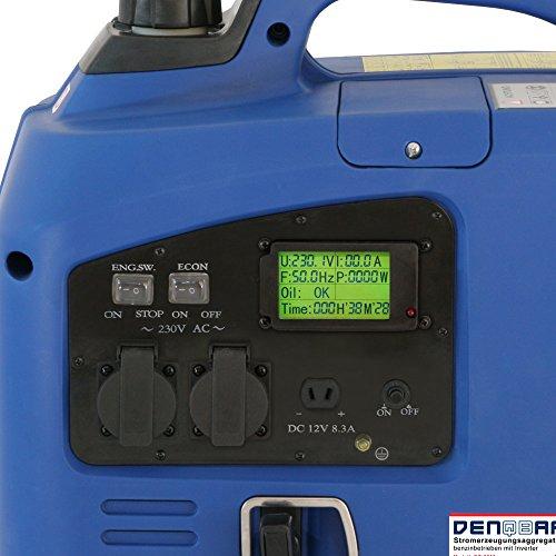 Denqbar DQ2200 digitaler Inverter Stromerzeuger 2,2 kW - 4
