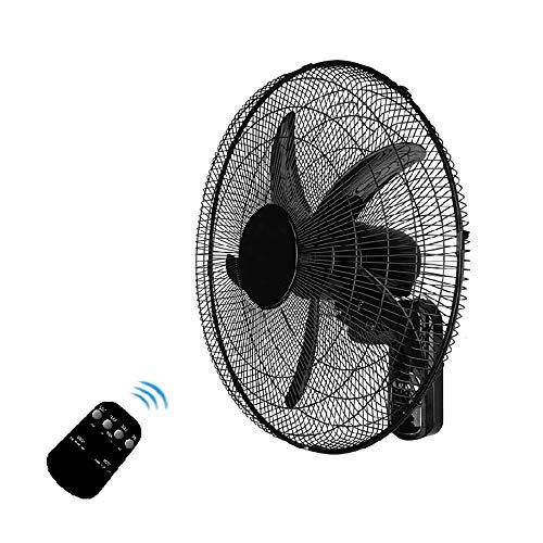 Ventilador de Pared de 20 Pulgadas, Control Remoto/mecánico, Dormitorio Hogar Oscilante Ventilador...