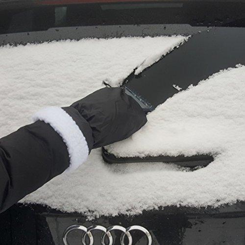 AUPROTEC-Raschietto-per-ghiaccio-con-guanto-protettivo-e-profilo-dentellato-colore-nero