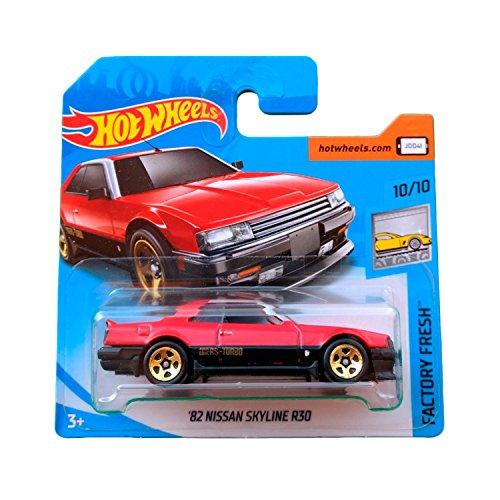 Hot Wheels \'82 Nissan Skyline R30 - Serie Factory Fresh 2018 - 10/10 (Short Card)