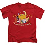 Adventure Time Outstretched Little Boys Juvy Shirt (Red, 7) - Best Reviews Guide