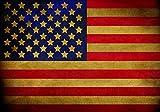 VLIESFOTOTAPETE Fototapete Tapete Wandbild Vlies   Welt-der-Träume  Flagge der USA   VEXL (208cm. x 146cm.)   Photo Wallpaper Mural 10679VEXL-AW   Amerika USA:New York Washington Bush Obama Trump