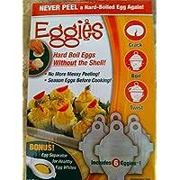 Hofoo uova uovo e tipo di contenitore Eggies eggboilers 6pcs